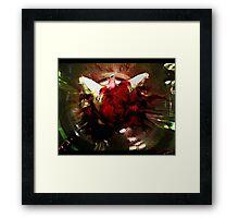 koi blend Framed Print