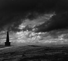 The Lonely Path, Stoodley Pike, Todmorden. by kkimi88