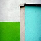 Green White Blue by villrot