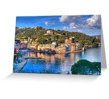 portofino paint five Greeting Card