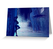 Blues in the night Greeting Card