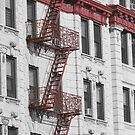 Brooklyn Fire Escapes by RodriguezArts