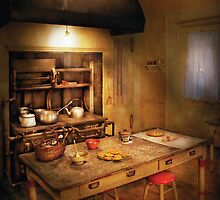 Baker - Granny's Stove by Mike  Savad
