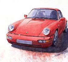Porsche 911 Carrera 2 1990 by Yuriy Shevchuk