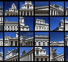 Greenwich The Old Royal Naval College  by Leila Cutler