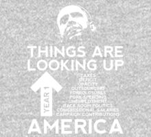 Things Are Looking Up America by JohnGo