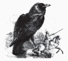 Fable of the Giant Raven & Knight T-Shirt