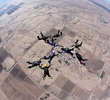 Formation Skydiving by Terry Schumacher