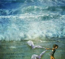 Live in the sunshine, swim in the sea, drink the wild air by Myillusions