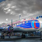 Eastern Airlines DC-7B by njordphoto