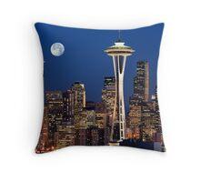 Sleepless in Seattle Throw Pillow