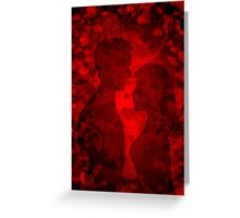 Valentines background Greeting Card