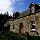 Hughie's house... Abriachan, Inverness-shire by BronReid