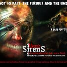 UNDEAD SIRENS ZOMBIE POSTER by morphfix