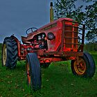 Little Red Tractor by Nathan Seiler