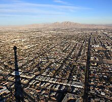 Vegas Skyline by Leila Cutler