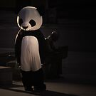 on a full moon he turned into a panda bear again... by rafaelvargas