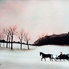 Winter Sleigh Ride by jillcsmith