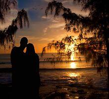 Sunset Romance~ by WJPhotography