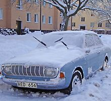Ford Taunus in the snow by Paola Svensson