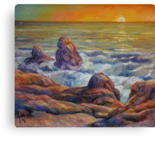 The Lonely Sea Canvas Print