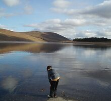 Looking for Loch Ness Monster age 8 by Lesley Ritchie