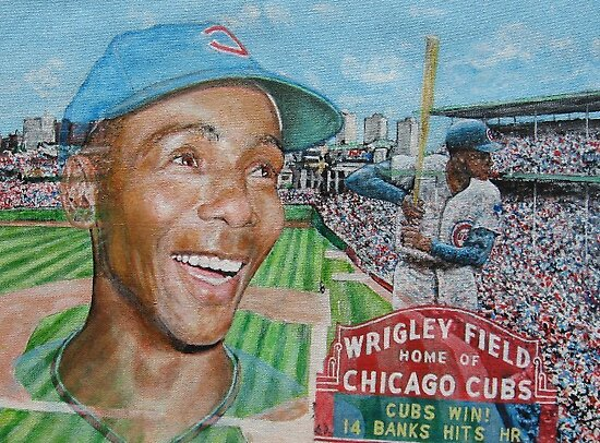 Ernie at Wrigley by yevad98