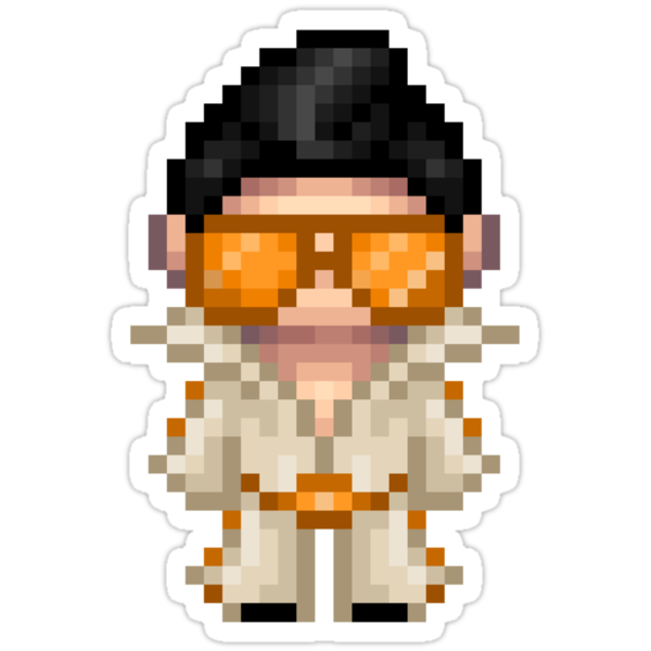 leroy is an elvis impersonator by iamnotadoll
