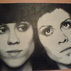 Tegan and Sara Pixel by Krypkee