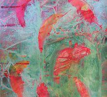 Salmon Journey by Lynn Moore