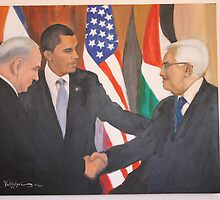 Peace in Middle East. by Boz Vakhshori