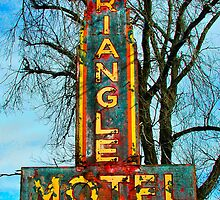 Triangle Motel Sign by tgarrett