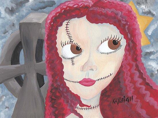 Girl in Graveyard by Kayleigh Walmsley