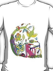 Garden of Earthly Bikes T-Shirt