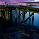 Morning Fish - Port Elliot Pier by Anthony Evans