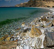 A Calm Rapid Bay by rebecca brace