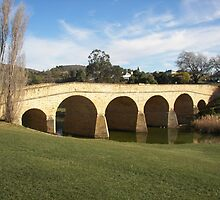 Richmond Bridge Tasmania by michellerena