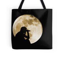 The Moon is full tonight Tote Bag