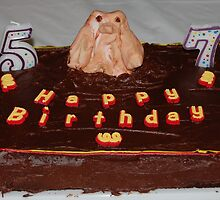 Husbands Groundhog Birthday Cake by Jonice