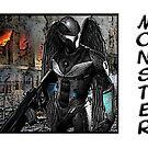 Robot Monster by Becpuss