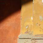Flava: dark brown, red and ochre by fabio piretti