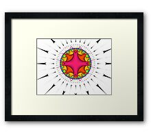 Glorious Time Framed Print