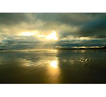 Radiant beach Photographic Print