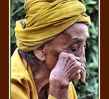 Wrinkles add character - Denpasar, Bali by Grianghrafadoir