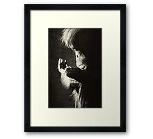 Searching Framed Print