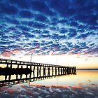 Cloud reflections by DarvidArt