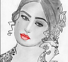 Reema khan by Bobby Dar