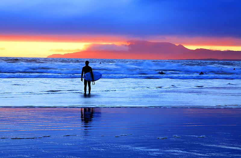 Surfs up. Donegal . Ireland by EUNAN SWEENEY