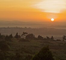 Eastern Kampala Sunrise, Uganda by Karl Lindsay