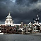 St. Paul&#x27;s against The Sky by Andy Freer